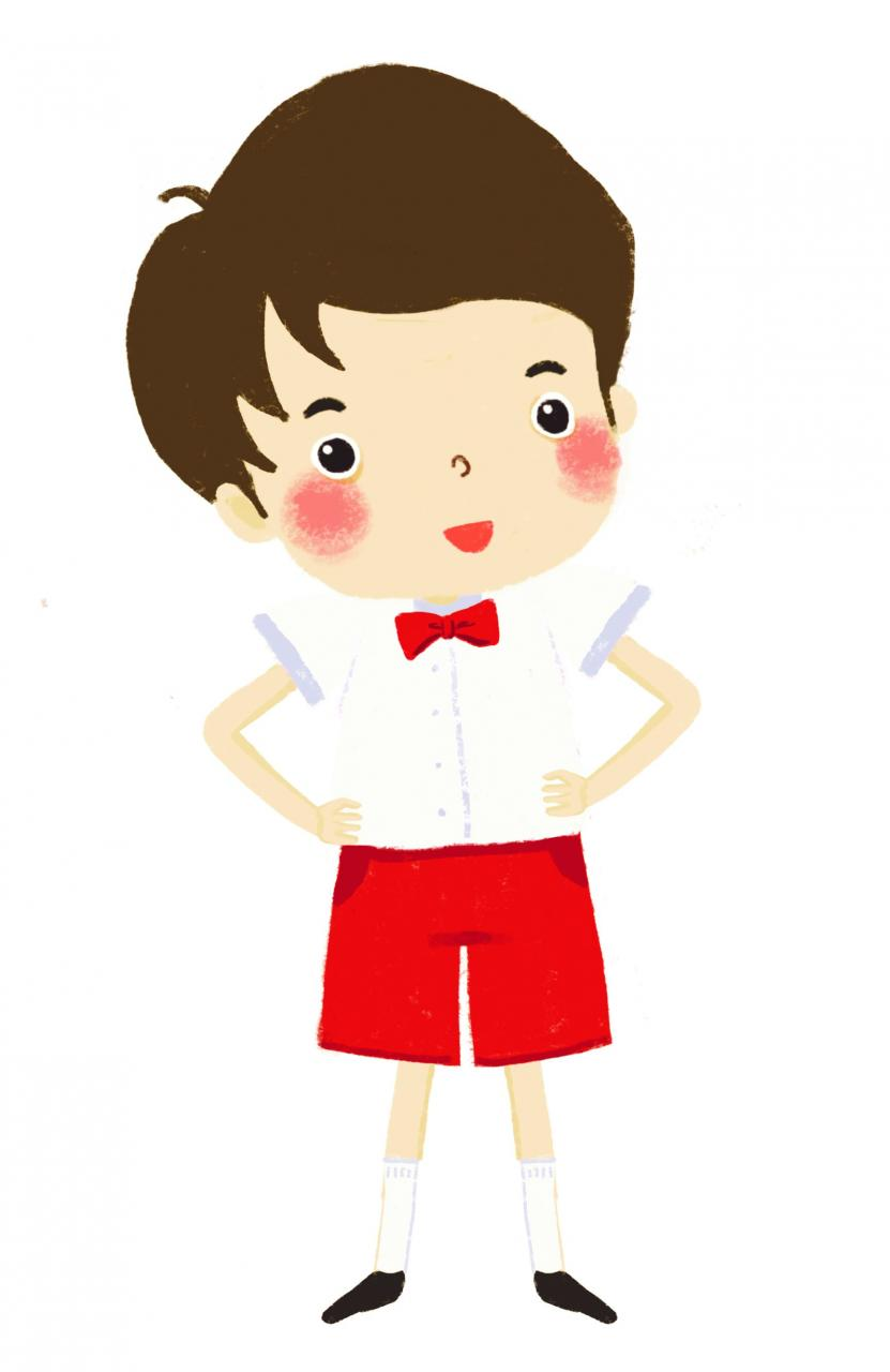 Male Members' Summer Uniform (Elementary & Junior Level)